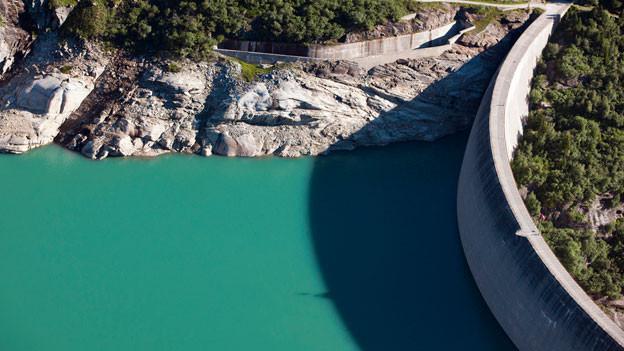 Zusätzliches Wasser für den Stausee Zervreila: So will es das Ausbauprojekt der Kraftwerke.