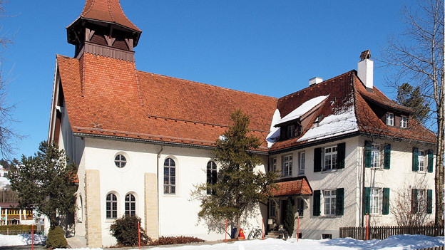 Die evangelische Kirche in Appenzell.