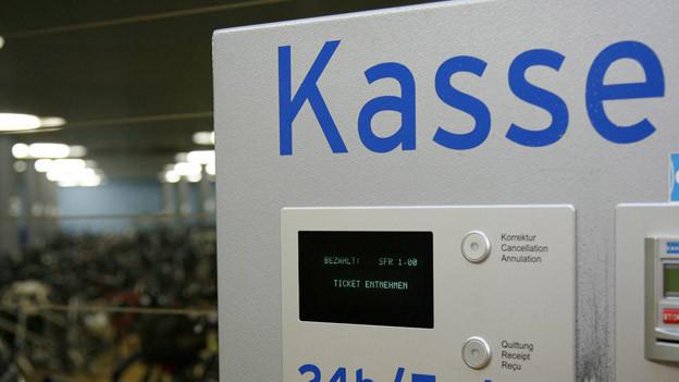 Ein Ticketautomat