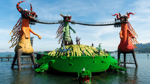 Freilicht-Festspiele wie Bregenz finden immer mehr Beliebtheit