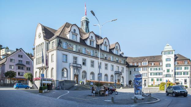 Das Regierungsgebäude in Herisau