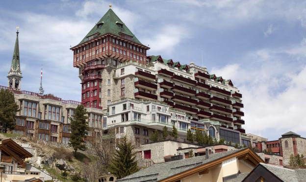 Das Nobelhotel Badrutt's Palace in St.Moritz.