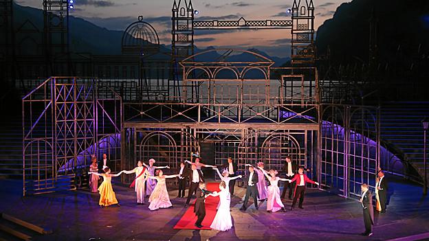 Première von «My Fair Lady» auf der Waldenseebühne. Das Publikum lobte auch das Ambiente.