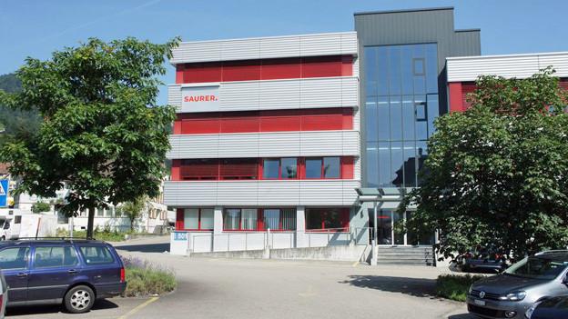 Die Firma Saurer beschäftigt in Wattwil (Bild) ca. 90 Personen und in Arbon rund 100. Weltweit sind es 3800 Mitarbeiter. zvg