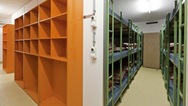 Der Kanton Graubünden prüft Zivilschutzanlagen als temporäre Asylunterkünfte.