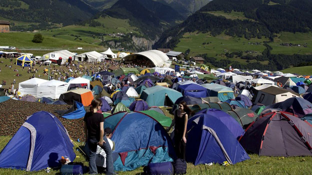 Das Openair Lumnezia ist das grösste Musikfestival in Graubünden.