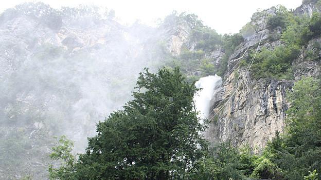 Wasserfall am Felshang