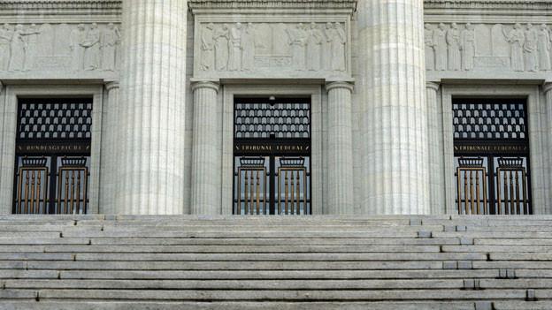 Eingang Bundesgericht