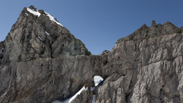 Vom geplanten Aussichtspunkt aus hätten Besucher freie Sicht aufs Martinsloch.