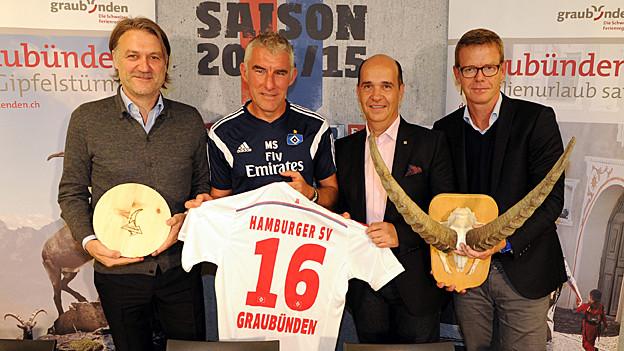 Graubünden schliesst Partnerschaft mit HSV