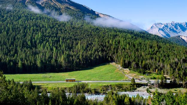 Die Strasse durch den Nationalpark soll gebührenpflichtig werden.