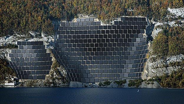 Solaranlage am Walensee hat Verspätung