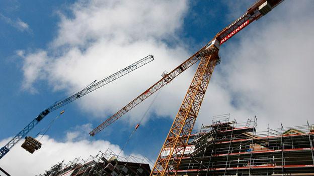 Die Bünder Baubranche erhielt im ersten Semster weniger Aufträge.