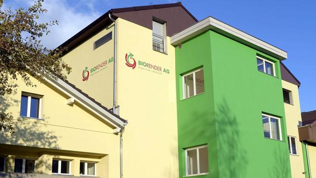 St. Gallen bedauert den Konkurs der Biorender AG.