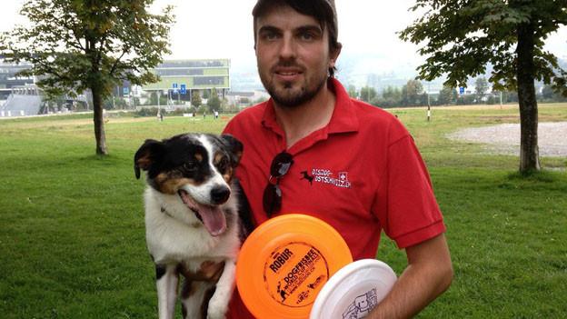 Die erste Hundefrisbee-WM in der Schweiz