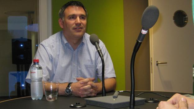 Christian Aldrey, Chef der St. Galler Verkehrspolizei