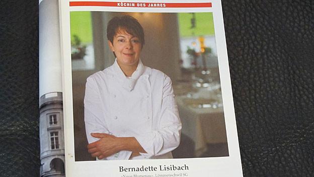 Bernadette Lisibach im neuem Gault Millau