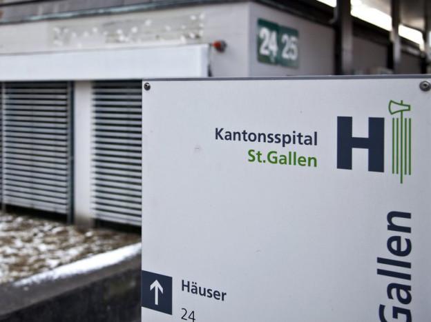 Das St. Galler Kantonsspital.