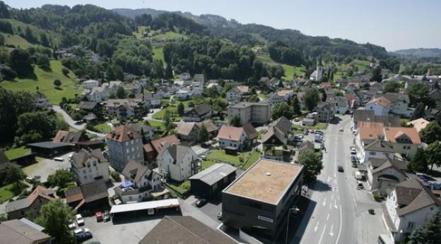 St.Margrethen: Weder Dorf noch Stadt. Eine Studie hat die Gemeinde unter die Lupe genommen. Keystone