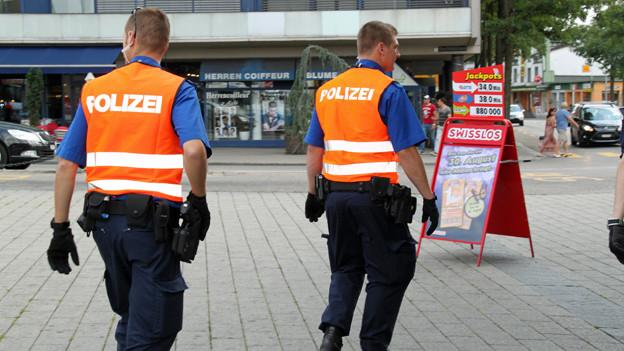 Polizisten sollen in Dörfern präsenter sein.