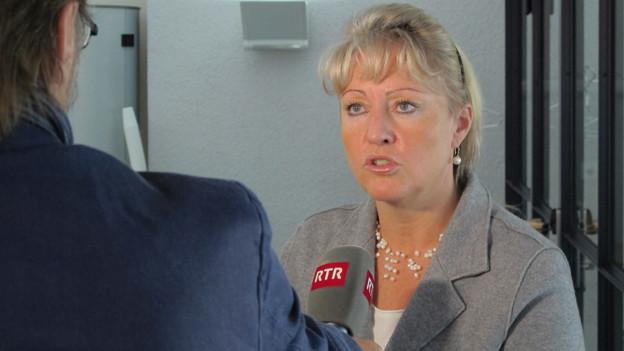Finanzdirektorin Steiner sorgt sich um die Kantonsfinanzen.