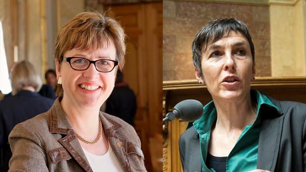 Edith Graf Litscher (TG), Barbara Gysi (SG),