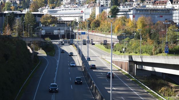 St. Gallen bekommt einen 3. Autobahntunnel.