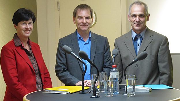 Drei Kandidaten wollen in den St. Galler Stadtrat