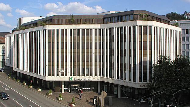 St. Galler Kantonalbank von aussen
