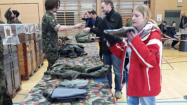 Frauen im Militär
