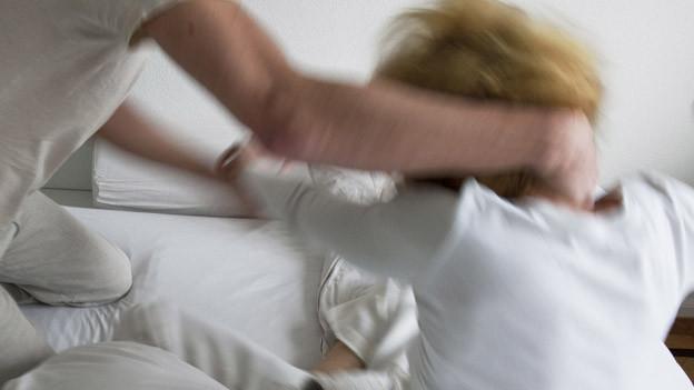 Das Frauenhaus unterstützt weibliche Opfer von Gewalt.