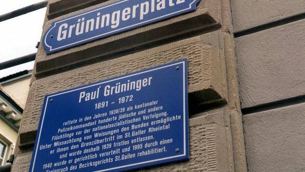 Paul Grüninger wird Schulstoff