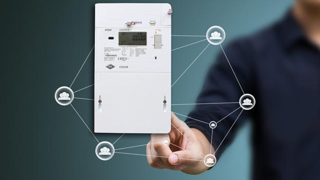Mit dem Smart Meter entfällt das Stromablesen künftig.