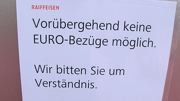 Run auf Euro.