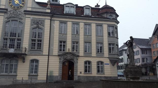 Das Bezirksgericht in Weinfelden in einer Aussenansicht.