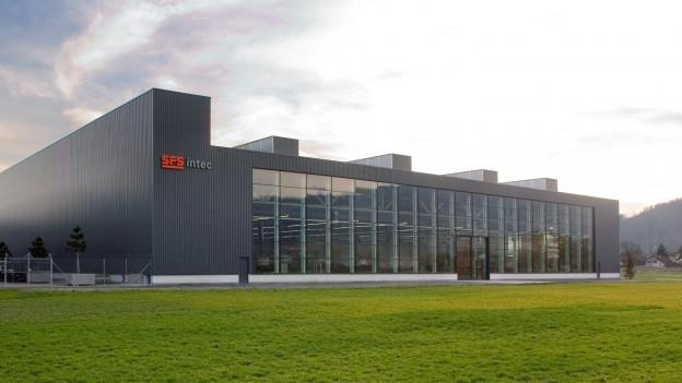 Hauptsitz von SFS in Heerbrugg