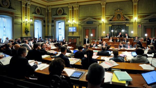 In der St. Galler Regierung wird ein CVP-Sitz frei.