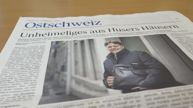 Vorwürfe an Herbert Huser