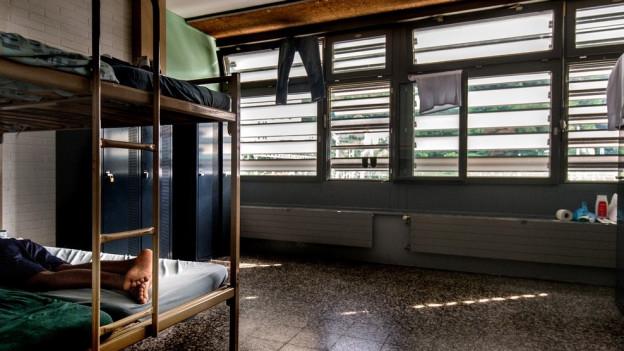 Das neue Asylheim bietet Platz für 65 bis 85 Asylsuchende.