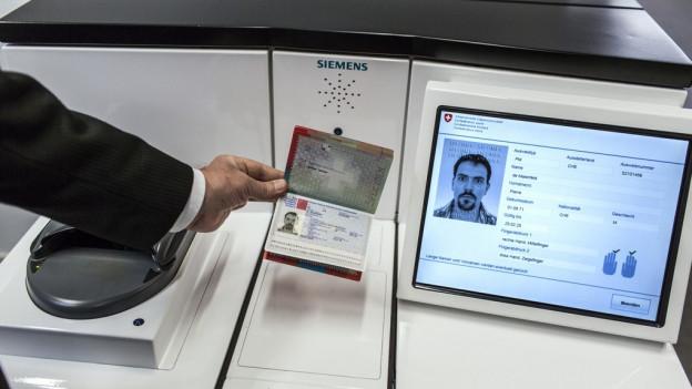 Im Kanton St. Gallen gibt es biometrische Pässe nur in der Hauptstadt.