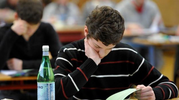 Der St. Galler Kantonsschule am Burggraben unterläuft ein peinlicher Fehler.