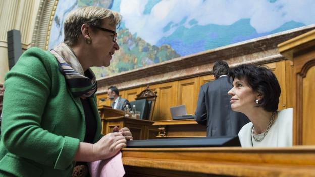 Edith Graf-Litscher will weiter im Nationalrat sein.