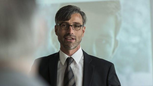 FHS-Rektor Sebastian Wörwag.