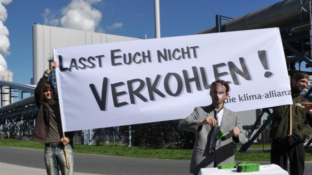 Kohlekraftwerke sind auch in Deutschland umstritten.