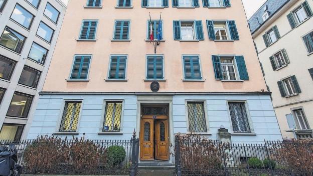 Haus des Italienischen Konsulats