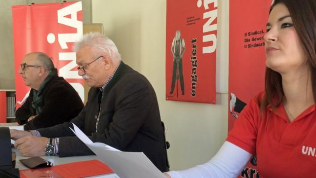 Gewerkschaft Unia mit Vorwürfen gegen Bündner Gerüstbaue