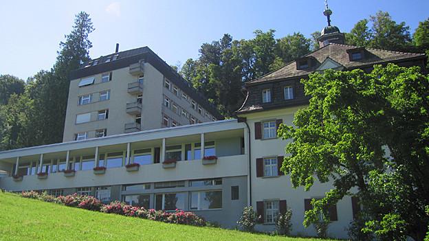 Die Marienburg in Thal war früher ein Gymnasium mit Internat.