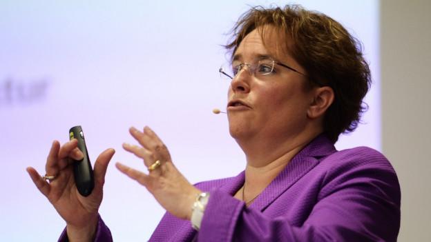 Magdalena Martullo-Blocher will in den Nationalrat.