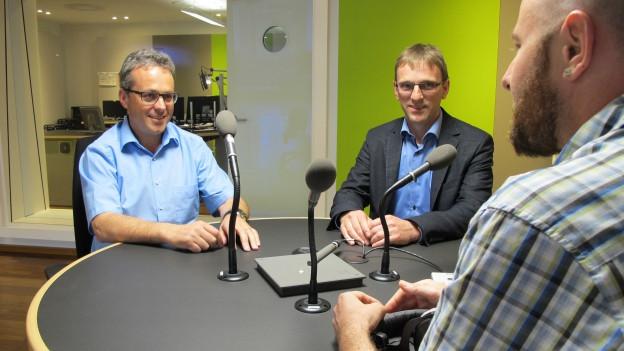 Ruedi Eberle und Stefan Müller wollen in die Innerrhoder Regierung