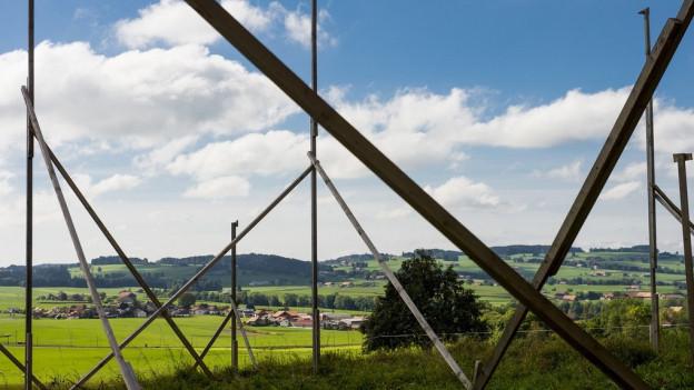 Die Gegner des Baugesetzes fürchten um freie Flächen.